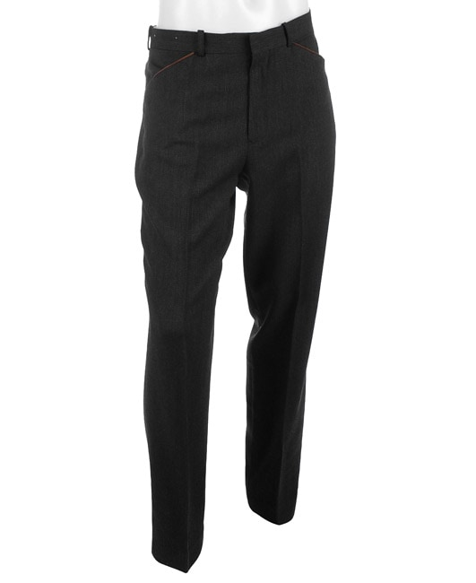 Polo Ralph Lauren Men's Charcoal Wool Pants