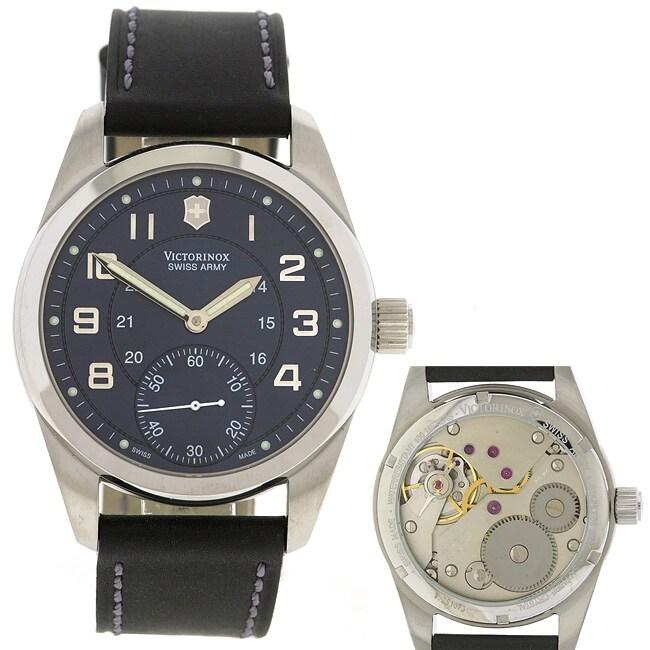 Swiss Army Classic Ambassador Blue Dial Watch