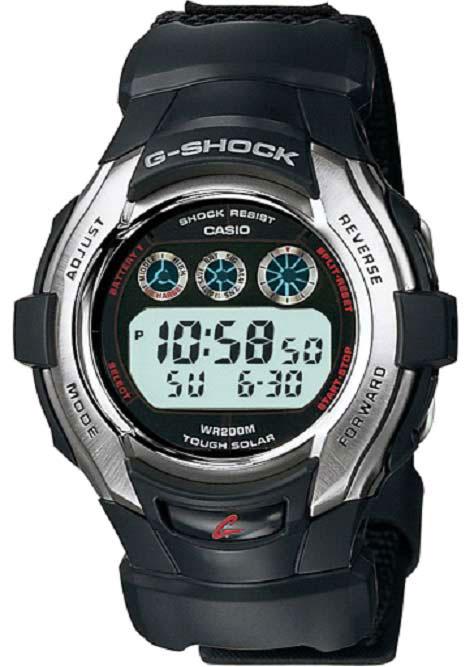 Casio G-Shock Men's Tough Solar Nylon Strap Watch