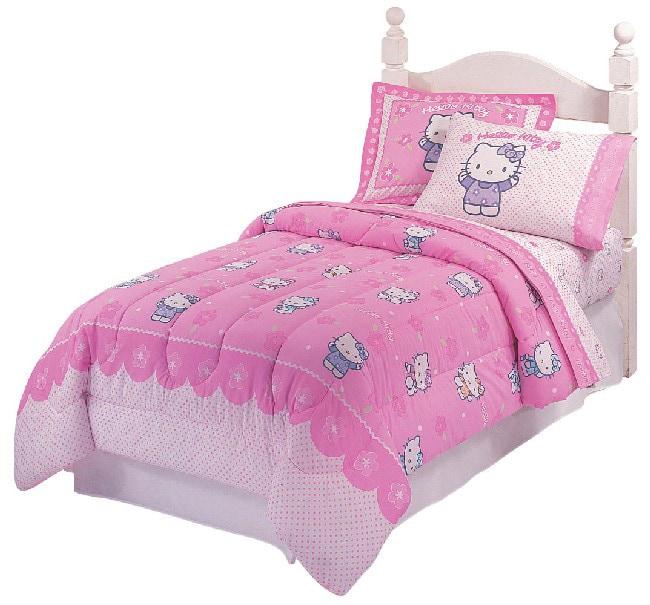 Hello Kitty Spring Flower Bedding Ensemble