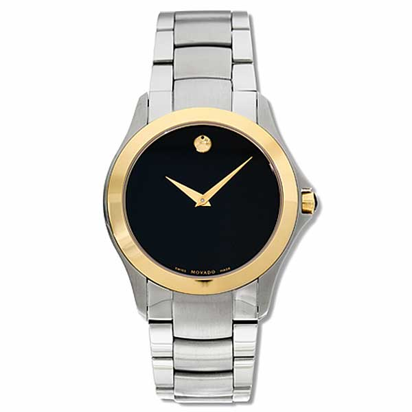 Movado Military Men's Two-tone Quartz Watch