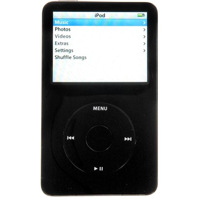 Apple iPod Classic 30GB 5.5 Generation Black (Refurbished)