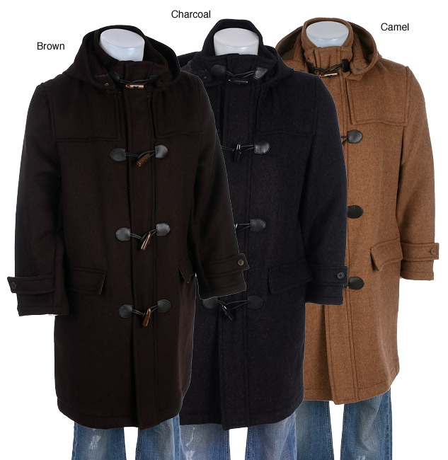 Claiborne Men's 3/4-length Toggle Coat