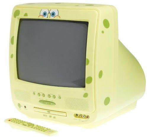 SpongeBob SquarePants 13 inch TV / DVD Combo (Refurbished)
