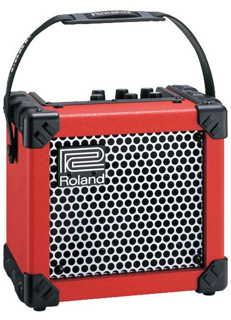Roland Red Micro Cube Amplifier
