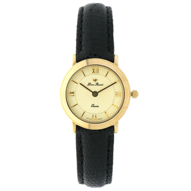 lucien piccard executive 14k yellow gold