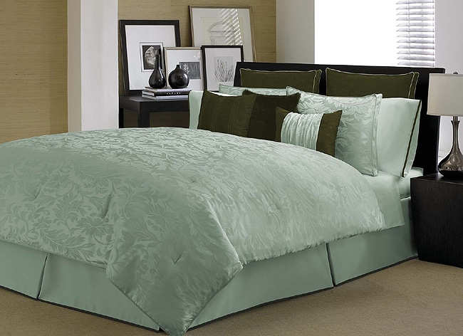 Kensington Aqua 4-piece Comforter Set