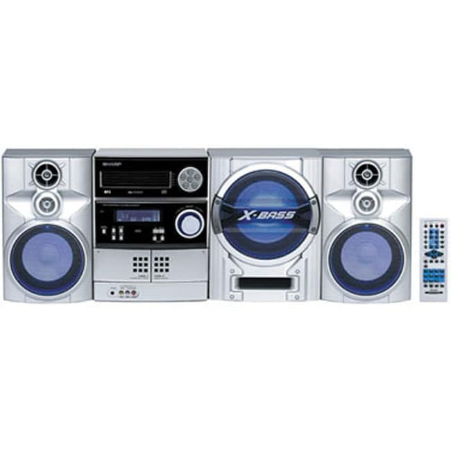Sharp 225 Watt 5 CD Player