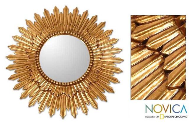 'Sunbeams' Mohena Mirror (Peru)