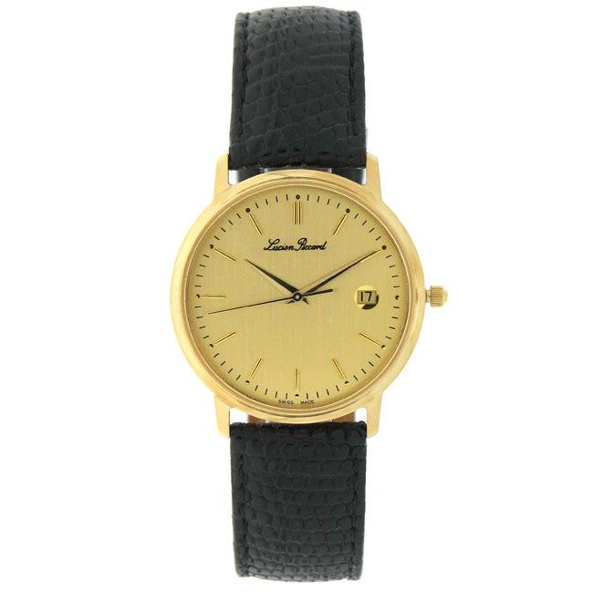 lucien piccard 18k yellow gold s 11056092