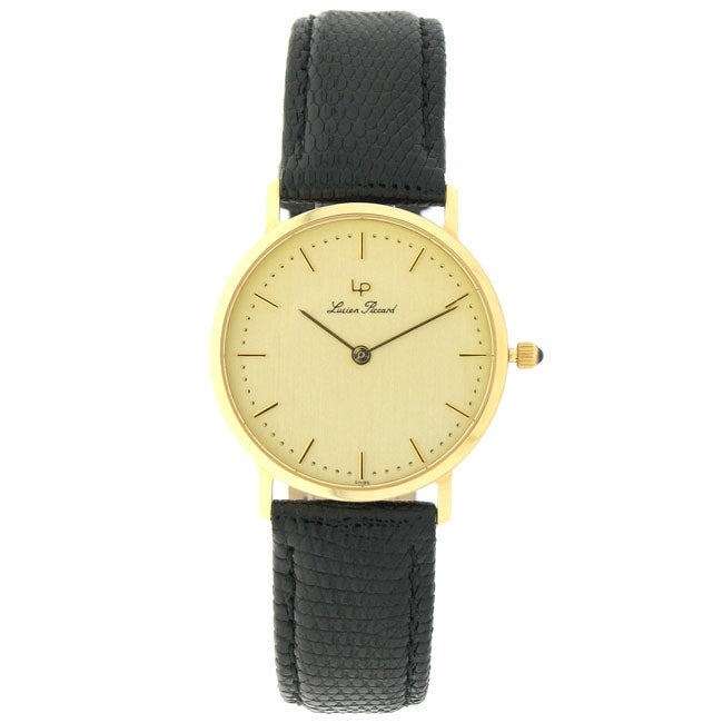 lucien piccard 18k yellow gold s 11056093