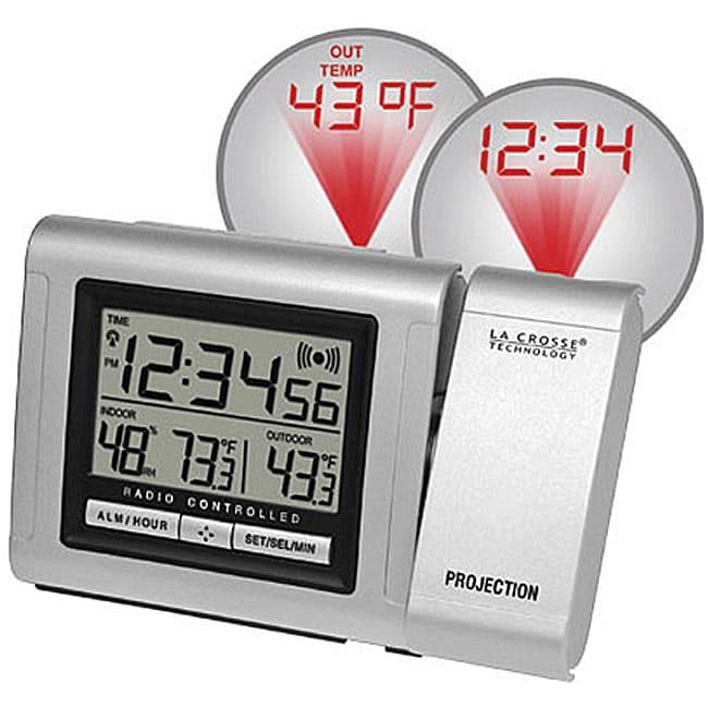 alarm clock projection