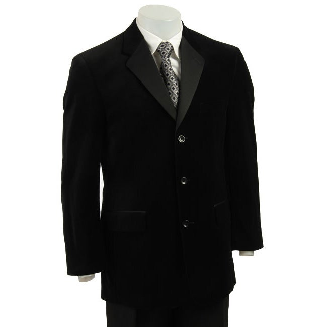 Bill Blass Men's Black Velvet Tuxedo Jacket
