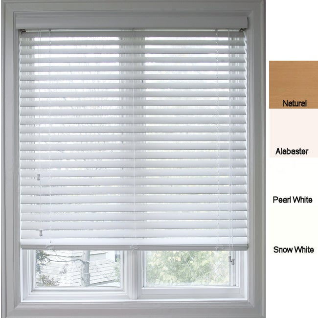 Faux wood 72 inch window blinds 11078650 for 2 inch faux wood window blinds