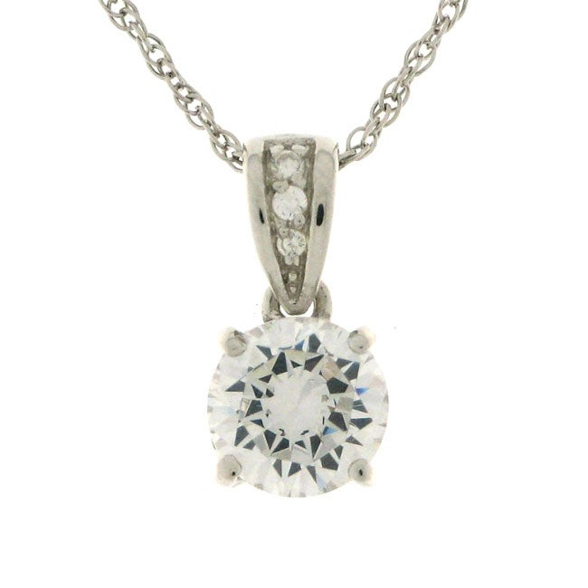 charles winston cubic zirconia necklace 11074956