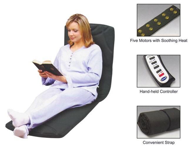 Dr. Scholl's Cushioned Heated Mat Massager