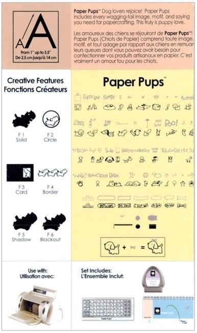 paper pups cricut cartridge