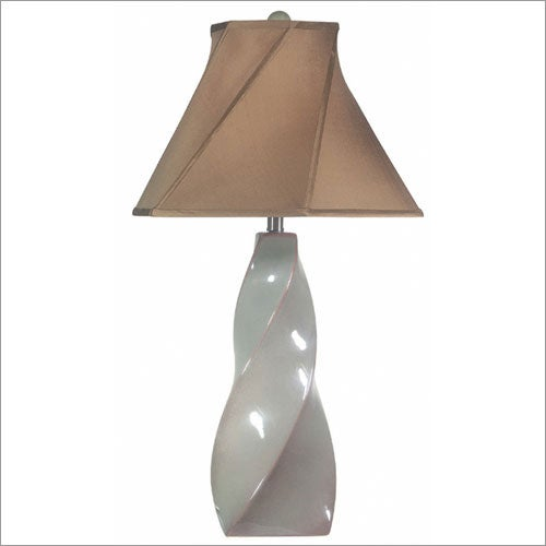 Dylan Sea Glass 3-way Table Lamp