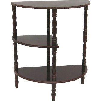 Early American 3-tier Sofa Table