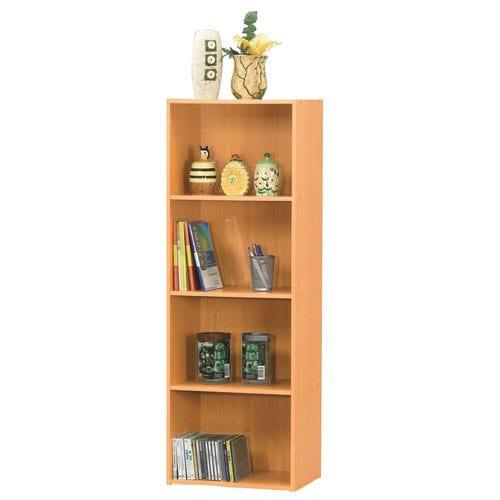 Natural 4-tier Storage Cubbies
