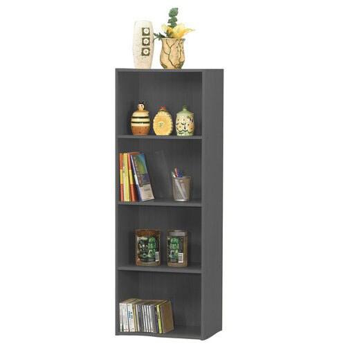 Black 4-tier Storage Cubbies