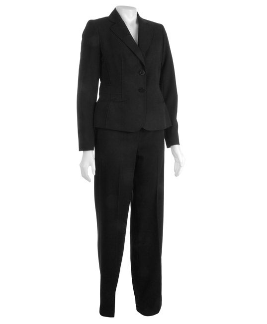 Nine West 2-piece Stretch Gabardine Jacket w/ Pant Suit