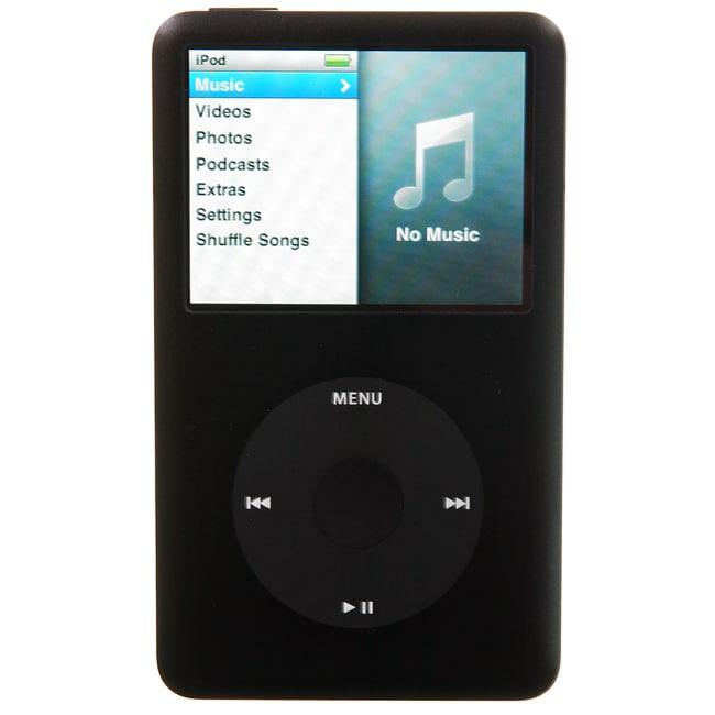 Apple iPod Classic 80GB 6th Generation Black (Refurbished)