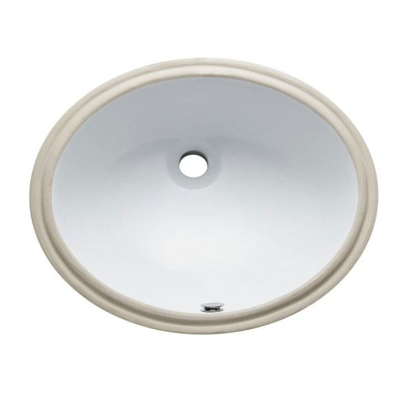 Marina Undermount White Lavatory Sink
