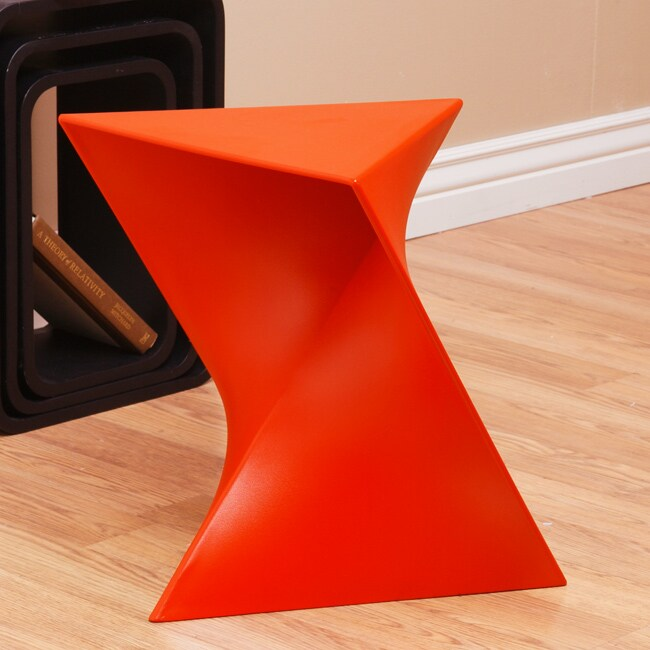 Prism Red Side Table