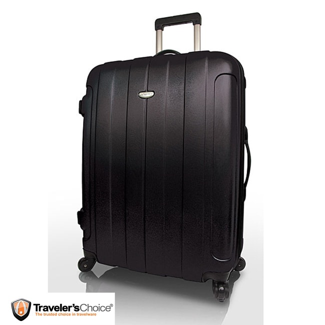 Travelers Choice Rome 28 Inch Spinner Hardside Upright