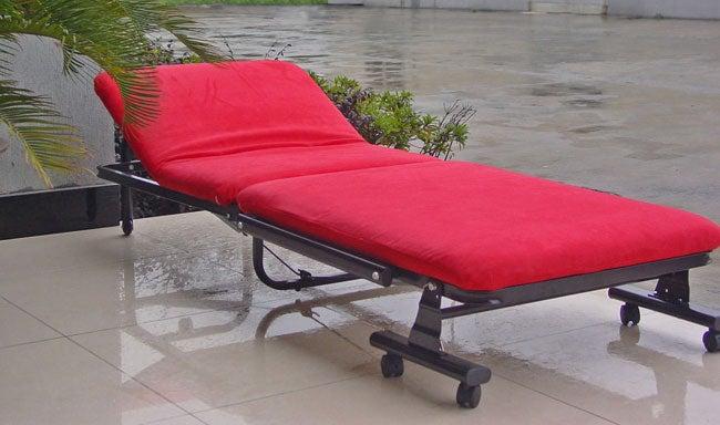 Microsuede Hideaway Bed