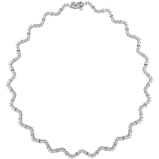Miadora 14k White Gold 7 4/5ct TDW Diamond Necklace