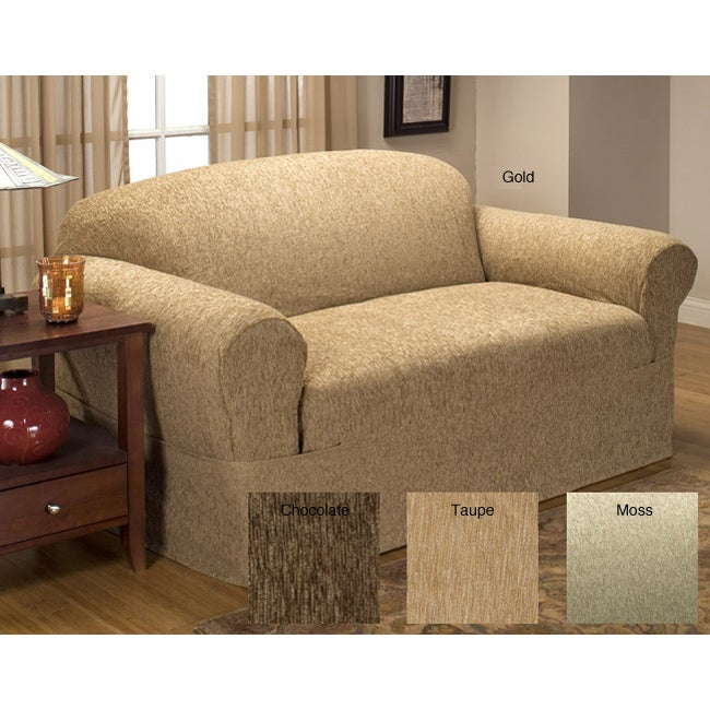 Chenille Supreme Sofa Slipcover Overstock Shopping