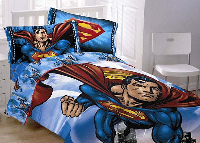 Superman Comforter Ensemble