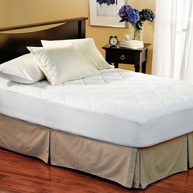 Overstock.com Eco Friendly 300 Thread Count Plush Mattress Pad at Sears.com