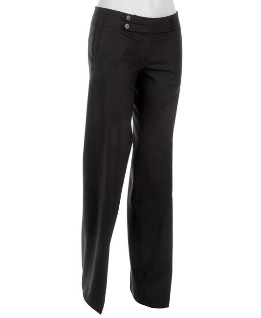 Laundry by Design Women's Navy Straight Leg Pants