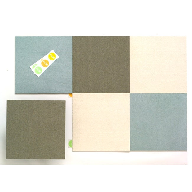 Basic Solids Rug in a Box by FLOR (3x5)