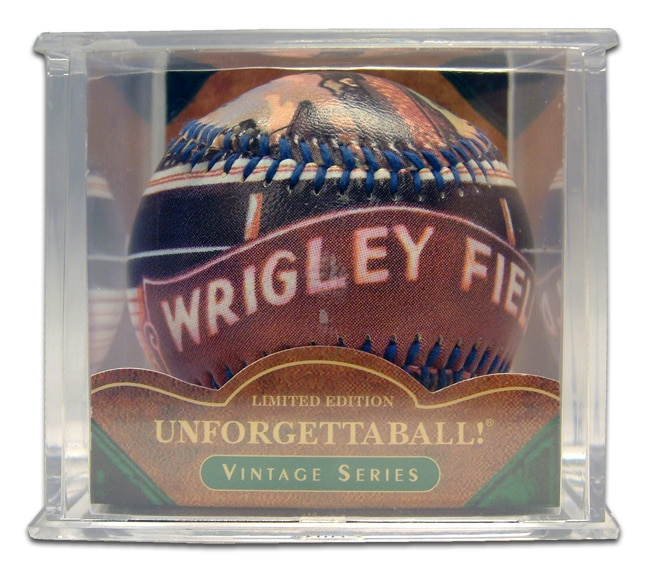 Wrigley Field Collectible Baseball