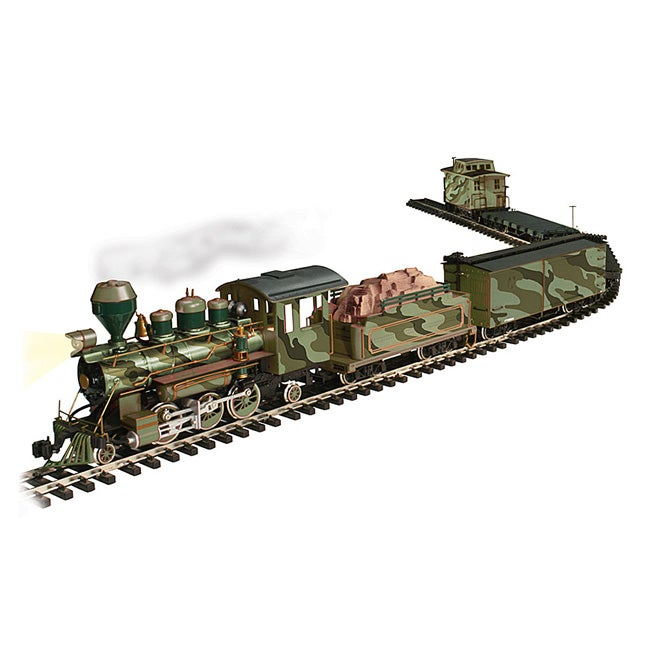 Limited Edition Military Army Electric Train Set