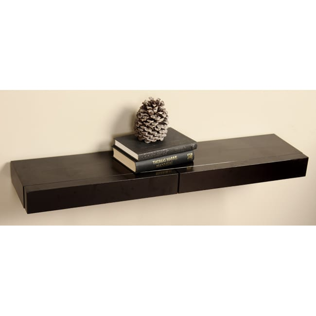 Two-drawer Wall Shelf