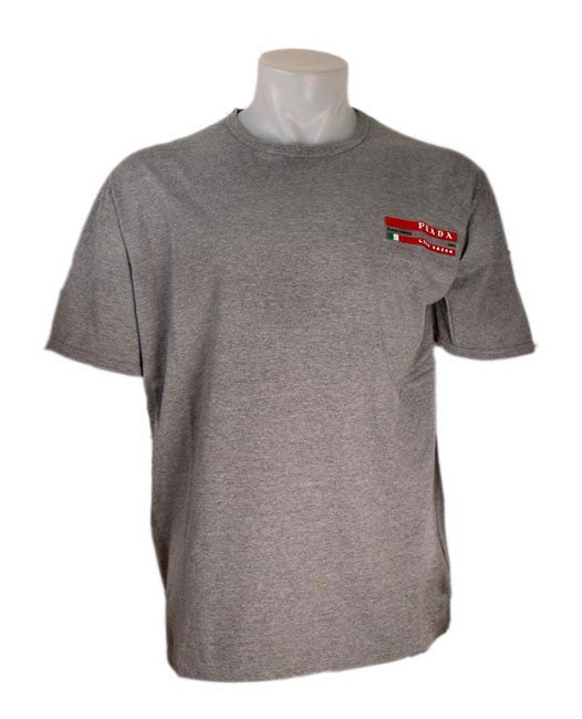 Prada Men's Grey Challenge for America's Cup 2003 T-Shirt