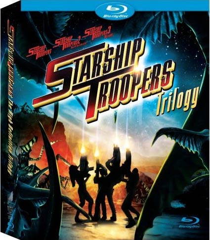 Starship Troopers Trilogy (Blu-ray Disc)