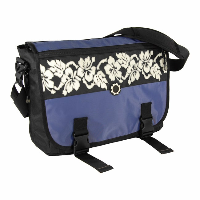 dadgear blue hawaiian diaper bag 11315878 shopping big discounts on daddy. Black Bedroom Furniture Sets. Home Design Ideas