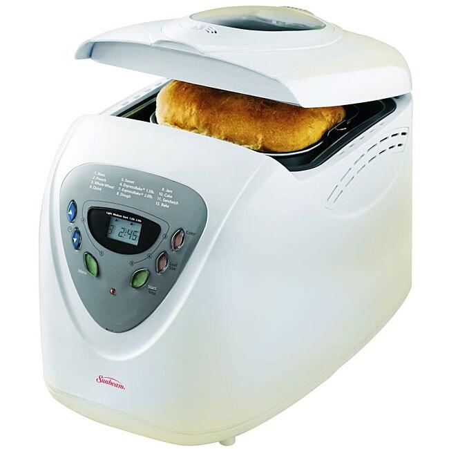 Sunbeam 5891 2-Pound ExpressBake Breadmaker