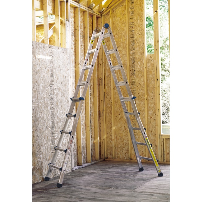 Multifunction 21-foot Step Ladder