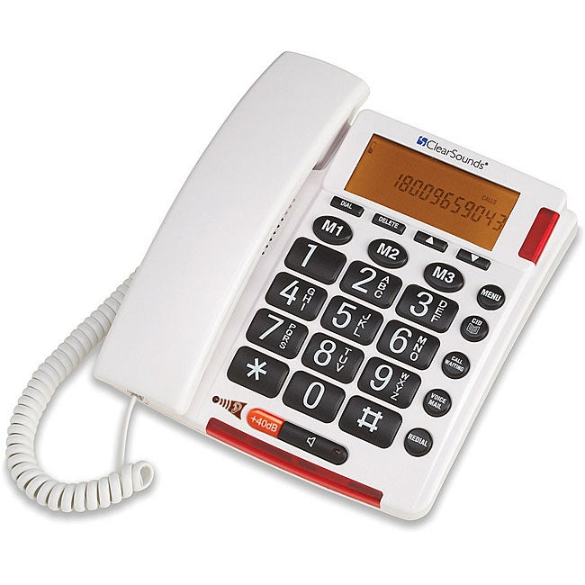 ClearSounds CS-TALK500 Talking Amplified Telephone