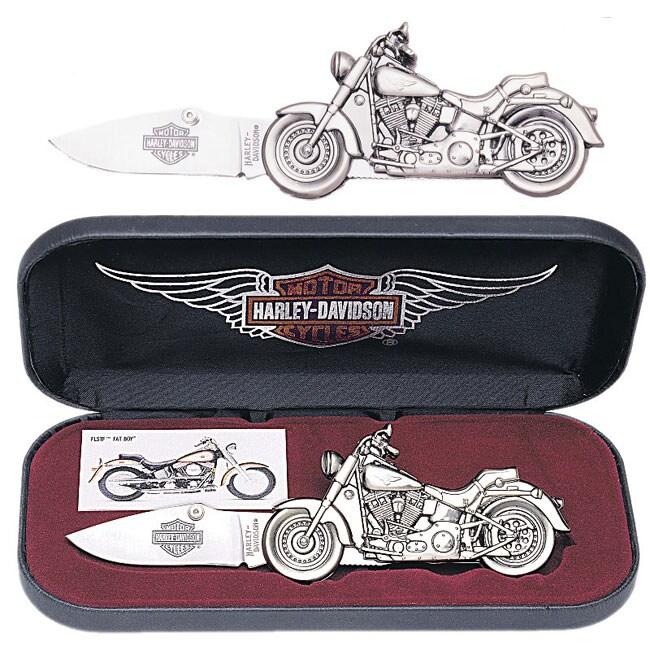 Harley Davidson Fat Boy Motorcycle Knife