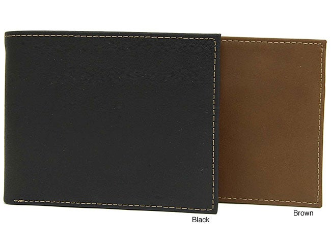 Joe by Joseph Abboud Men's Leather Passcase Wallet