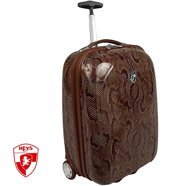Heys XCase Exotic Snake 20-inch Polycarbonate Carry-on