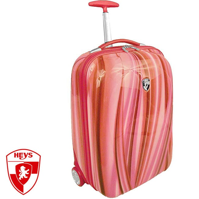 Heys XCase Exotic Polycarbonate 20-inch Red Flow Carry-on